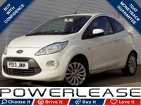 USED 2013 13 FORD KA 1.2 ZETEC 3d 69 BHP BLACK FRIDAY WEEKEND EVENT, £30 ROAD TAX STOP/START AUX IN