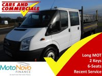 USED 2014 64 FORD TRANSIT TIPPER DOUBLE CAB 350 LWB DRW RWD 100ps