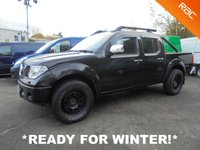 2008 NISSAN NAVARA 2.5 AVENTURA DCI 4X4 Double Cab AUTOMATIC *NO VAT* £SOLD