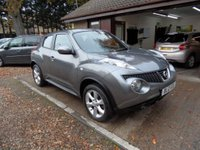 USED 2012 12 NISSAN JUKE 1.5 ACENTA DCI 5d 110 BHP FULL SERVICE HISTORY, 2 OWNERS FROM NEW, 2 KEYS, USB AND AUX CONNECTION