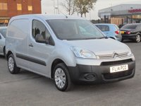 USED 2014 14 CITROEN BERLINGO 1.6 625 ENTERPRISE L1 HDI 1d 74 BHP