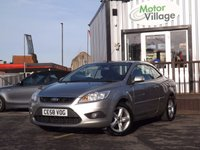 USED 2008 58 FORD FOCUS 1.6 CC1 2d 100 BHP New Mot And Service On Purchase, Cheap convertible in fantastic condition