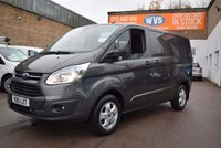 2015 FORD TRANSIT CUSTOM 2.2 270 LIMITED LR P/V 1d 124 BHP £11499.00