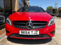 USED 2014 64 MERCEDES-BENZ A CLASS 1.6 A180 BLUEEFFICIENCY SPORT 5d AUTO 122 BHP NIGHT PK EXCLUSIVE PK MIRROR PK + PANORAMIC ROOF