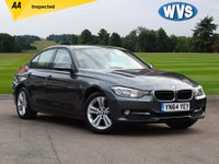 USED 2014 64 BMW 3 SERIES 2.0 320D SPORT 4d AUTO 184 BHP A superb 1 owner low mileage 2014 BMW 320d Sport 4dr auto in metallic grey with FSH and 2 keys.