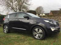 2014 KIA SPORTAGE 1.7 CRDI 3 SAT NAV ISG 5d  PLEASE CALL TO VIEW AS ITS NOT ALWAYS ON SITE  £13000.00