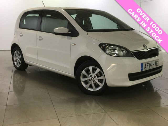 View our 2014 14 SKODA CITIGO 1.0 SE 12V 5d 59 BHP
