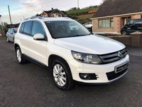 2014 VOLKSWAGEN TIGUAN 2.0 MATCH TDI DIESEL BLUEMOTION TECHNOLOGY PK  £13250.00