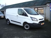 2016 FORD TRANSIT CUSTOM 2.0 270 LR P/V 1d 105 BHP EURO 6 NEW MODEL £13250.00