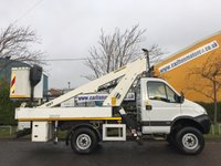 USED 2010 10 IVECO DAILY 3.0 55S17W 170 4x4 [ Cherry Picker Access Platform ] All Terrain Low Miles 17k
