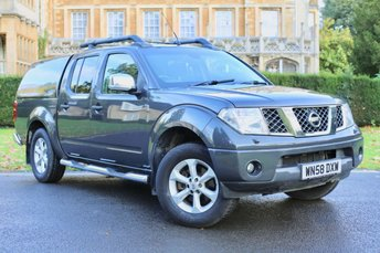 2008 NISSAN NAVARA 2.5 OUTLAW DCI 4X4 SWB SHR D/C 1d AUTO 169 BHP £7490.00