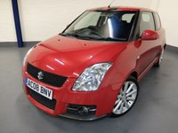 2008 SUZUKI SWIFT 1.6 SPORT 3d 124 BHP £3490.00