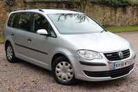USED 2008 58 VOLKSWAGEN TOURAN 1.9 S TDI BLUEMOTION 5d 103 BHP