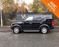 2007 LAND ROVER DISCOVERY 3 LAND ROVER TDV6 XS BLACK LEATHER AIR CON HEATED SETAS FSH £7250.00