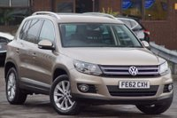 USED 2012 62 VOLKSWAGEN TIGUAN 2.0 SE TDI BLUEMOTION TECHNOLOGY 4MOTION 5d 140 ONE Previous OWNER RDS510 Touchscreen media