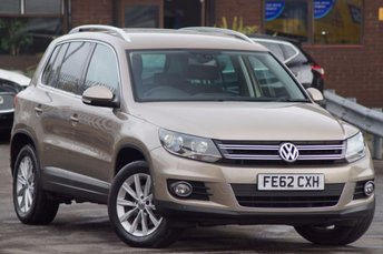 2012 VOLKSWAGEN TIGUAN 2.0 SE TDI BLUEMOTION TECHNOLOGY 4MOTION 5d 140 £10295.00