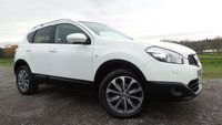 USED 2013 62 NISSAN QASHQAI 1.6 TEKNA IS DCIS/S 5d 130 BHP SATTELITE NAVIGATION,START-STOP,,1 LADY OWNER PLUS SUPPLYING DEALER,PANORAMIC ROOF, AIR-CON,3 X SERVICE STAMPS,REVERSE CAMERA,,
