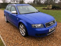 USED 2003 03 AUDI A4 4.2 S4 AVANT QUATTRO 5d 339 BHP HEATED LEATHER, PARK ASSIST