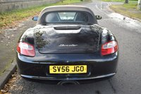 USED 2006 56 PORSCHE BOXSTER 2.7 24V TIPTRONIC S 2d AUTO 242 BHP HEATED LEATHER SEATS, SAT NAV, REVERSE CAMERA, 18 INCH ALLOYS