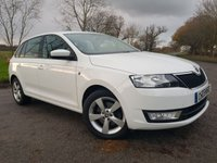 USED 2014 14 SKODA RAPID SPACEBACK 1.6 ELEGANCE TDI CR 5d 1 OWNER & HISTORY