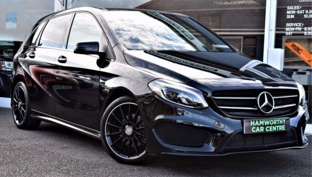 2015 15 MERCEDES-BENZ B CLASS 2.1 B200 CDI AMG LINE PREMIUM PLUS 5d AUTO 7G-DCT 134 BHP £5,000 FACTORY EXTRA'S