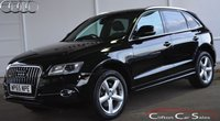 USED 2015 65 AUDI Q5 2.0TDi QUATTRO S-LINE 5 DOOR 6-SPEED 190 BHP Finance? No deposit required and decision in minutes.