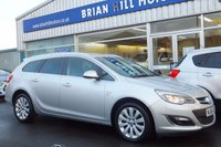 USED 2014 64 VAUXHALL ASTRA 1.6i ELITE ESTATE 5dr (113PS)
