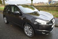 USED 2010 10 NISSAN QASHQAI+2 1.5 TEKNA PLUS 2 DCI 5d 105 BHP SERVICE HISTORY, SAT NAV, PAN ROOF, REVERSE CAMERA, LEATHER SEATING