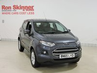 USED 2015 65 FORD ECOSPORT 1.5 ZETEC TDCI 5d 90 BHP with rear parking sensors