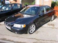 2006 VOLVO S60 2.4 SPORT T5 4d 257 BHP CAT D CAT D £SOLD