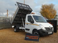 USED 2016 66 RENAULT MASTER 2.3 ML35 BUSINESS DCI L/R TIPPER DRW 2d 125 BHP