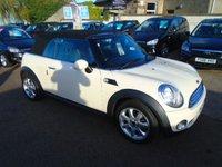 2009 MINI CONVERTIBLE 1.6 COOPER 2d 120 BHP £5750.00