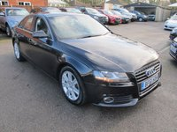 2011 AUDI A4 2.0 TDI TECHNIK 4d 134 BHP + SAT NAV + FULL LEATHER £8299.00