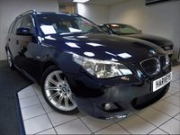 USED 2006 56 BMW 5 SERIES 2.5 525I M SPORT 5d AUTO 215 BHP