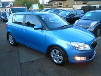USED 2014 14 SKODA FABIA 1.2 GREENLINE TDI CR 5d 74 BHP ZERO ROAD TAX,LOW MILEAGE DIESEL,FULL SERVICE HISTORY ,EXTRAS