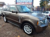 USED 2010 10 LAND ROVER RANGE ROVER 3.6 TDV8 VOGUE 5d AUTO 271 BHP FULL SERVICE HISTORY,  REAR ENTERTAINMENT, BIEGE LEATHER