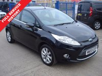 "USED 2009 59 FORD FIESTA 1.2 ZETEC 5d 81 BHP Full Service History | £30 Road Tax | In Car Entertainment - Radio/CD/MP3 | 15"" Alloys 
