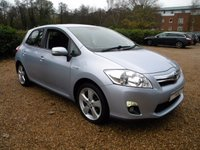 USED 2011 11 TOYOTA AURIS 1.8 T4 5d AUTO 99 BHP Full Service History, Climate Control. £0 Tax, High MPG