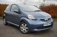 USED 2008 08 TOYOTA AYGO 1.0 BLUE VVT-I 3d 12 MONTHS FREE AA MEMBERSHIP