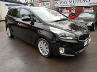 USED 2013 63 KIA CARENS 1.7 3 SAT NAV ECODYNAMICS CRDI 5d 134 BHP 0% AVAILABLE ON THIS CAR PLEASE CALL 01204 317705