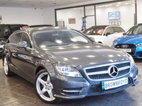 USED 2013 13 MERCEDES-BENZ CLS CLASS 2.1 CLS250 CDI BLUEEFFICIENCY AMG SPORT 5d AUTO 202 BHP SAT NAV+H-LEATHER+R-CAMERA+FSH