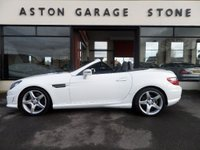USED 2013 63 MERCEDES-BENZ SLK 2.1 SLK250 CDI BLUEEFFICIENCY AMG SPORT 2d AUTO 204 BHP **SAT NAV * PAN ROOF * LEATHER** ** SAT NAV * PAN ROOF * HEATED LEATHER **