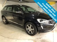 USED 2013 63 VOLVO XC60 2.4 D5 SE LUX NAV AWD 5d AUTO 212 BHP Full service history,      Full leather upholstery,      Heated front seats,      Electric driver's seat,      Bluetooth,      Satellite Navigation,      Remotely operated tailgate,      Rear parking sensors