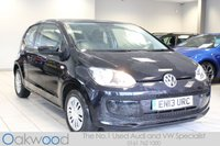 2013 VOLKSWAGEN UP 1.0 60 BHP MOVE UP 3d £4785.00