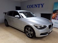 USED 2012 62 BMW 1 SERIES 2.0 118D SPORT 5d 141 BHP * FULL HISTORY * LOW MILES *