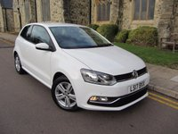2017 VOLKSWAGEN POLO 1.0 MATCH EDITION 3d 60 BHP £9995.00