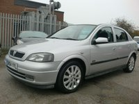 USED 2004 04 VAUXHALL ASTRA 1.6 SXI 16V TWINPORT 5d 100 BHP FULL MOT UPON PURCHASE