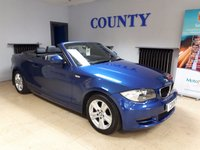 USED 2010 10 BMW 1 SERIES 2.0 118D SE 2d 141 BHP * FULL HISTORY * LONG MOT *