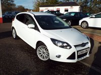 USED 2014 64 FORD FOCUS 1.0 ZETEC 5d 124 BHP Ford Service History