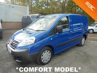 2012 FIAT SCUDO 1.6 HDi COMFORT MULTIJET SWB 90 BHP *EYE CATCHING COLOUR* £5495.00
